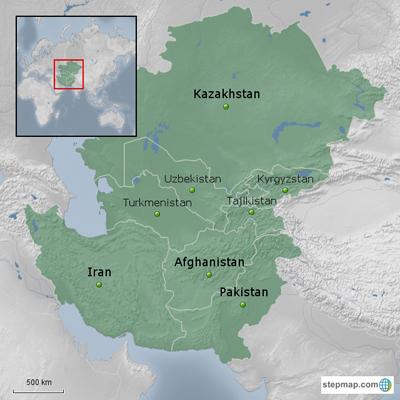 South and Central Asia Project