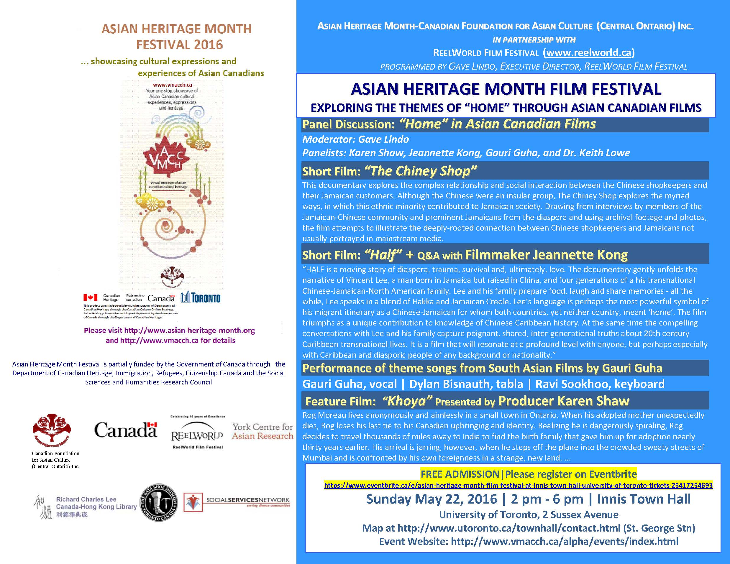 Asian Heritage Month: Community Event Listings