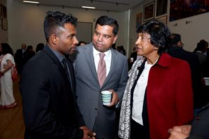Navi Pillay meeting with attendees of the 2016 N. Sivalingam Memorial Lecture