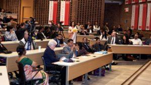 Audience members at the 2016 N. Sivalingam Memorial Lecture