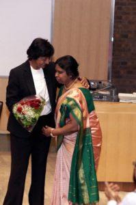 Navi Pillay and Jegajenany Sivalingam