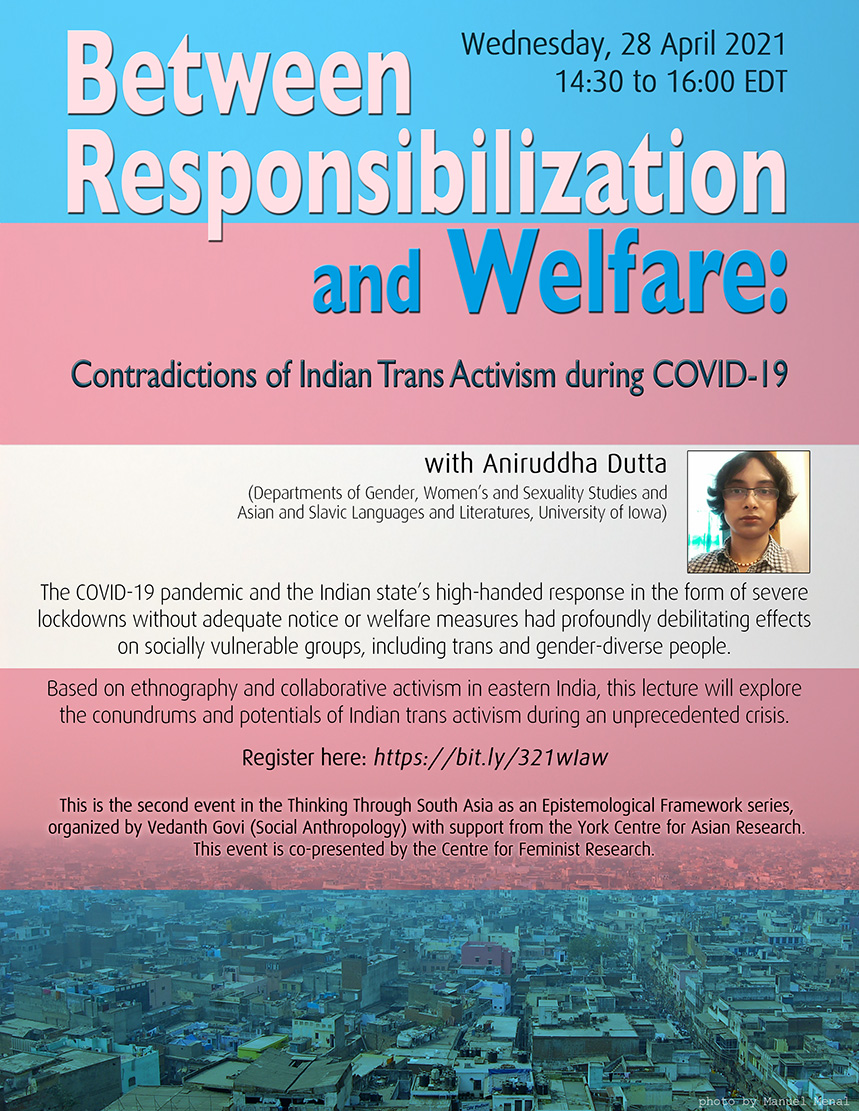 Between Responsibilization and Welfare: Contradictions of Indian Trans Activism during COVID-19