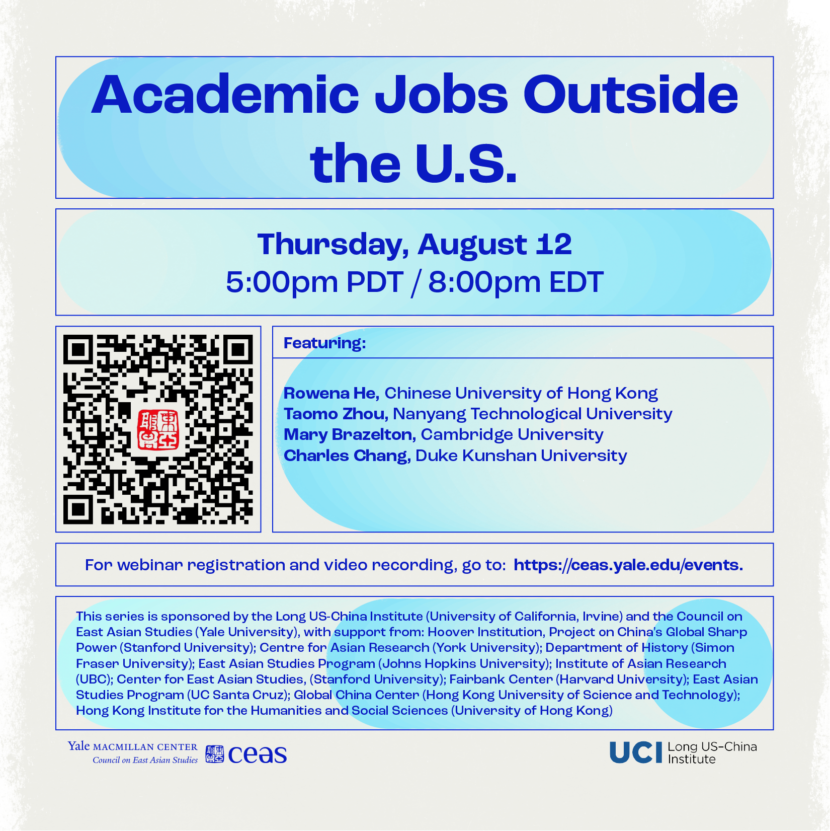 Academic Jobs Outside the US