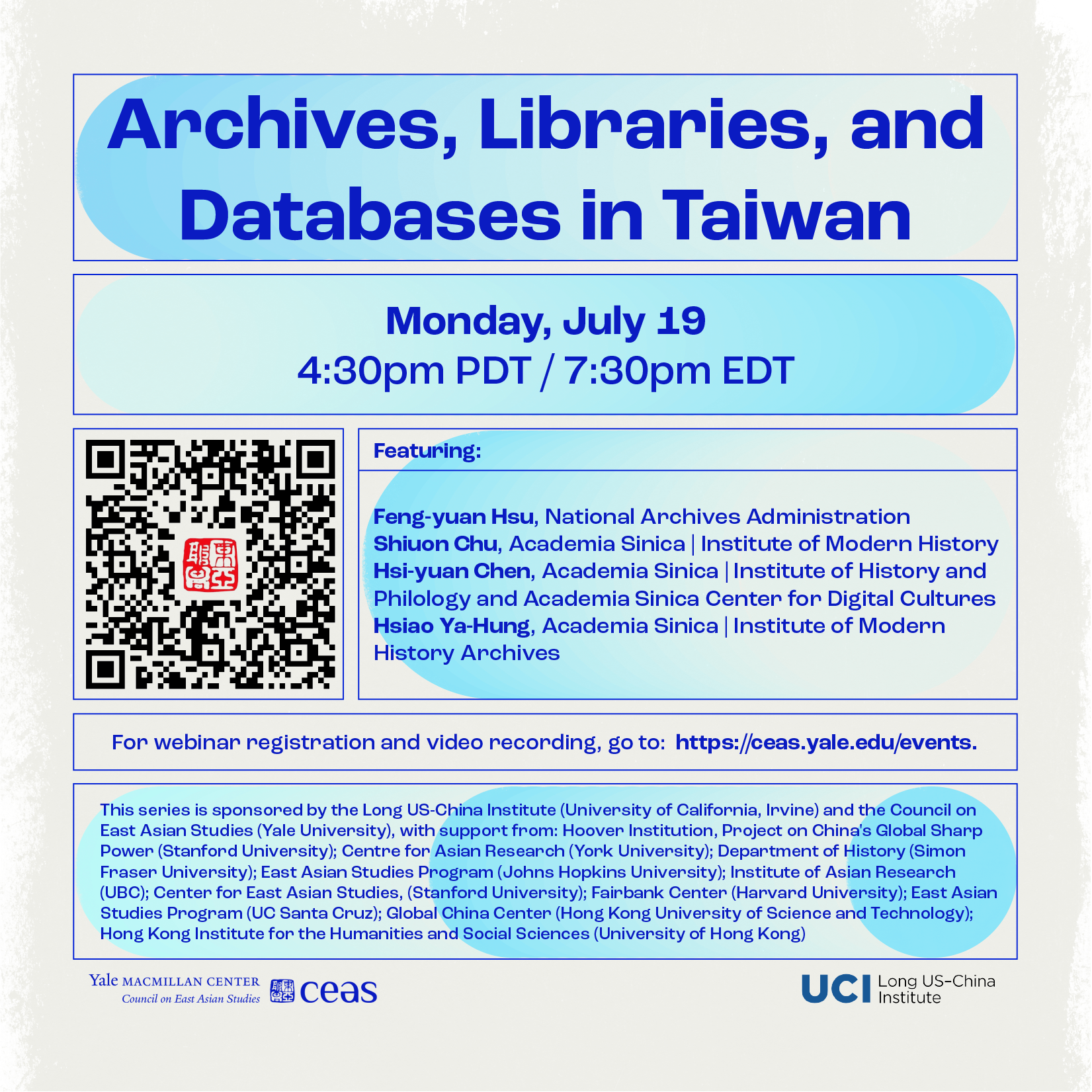 Archives, Libraries and Databases in Taiwan