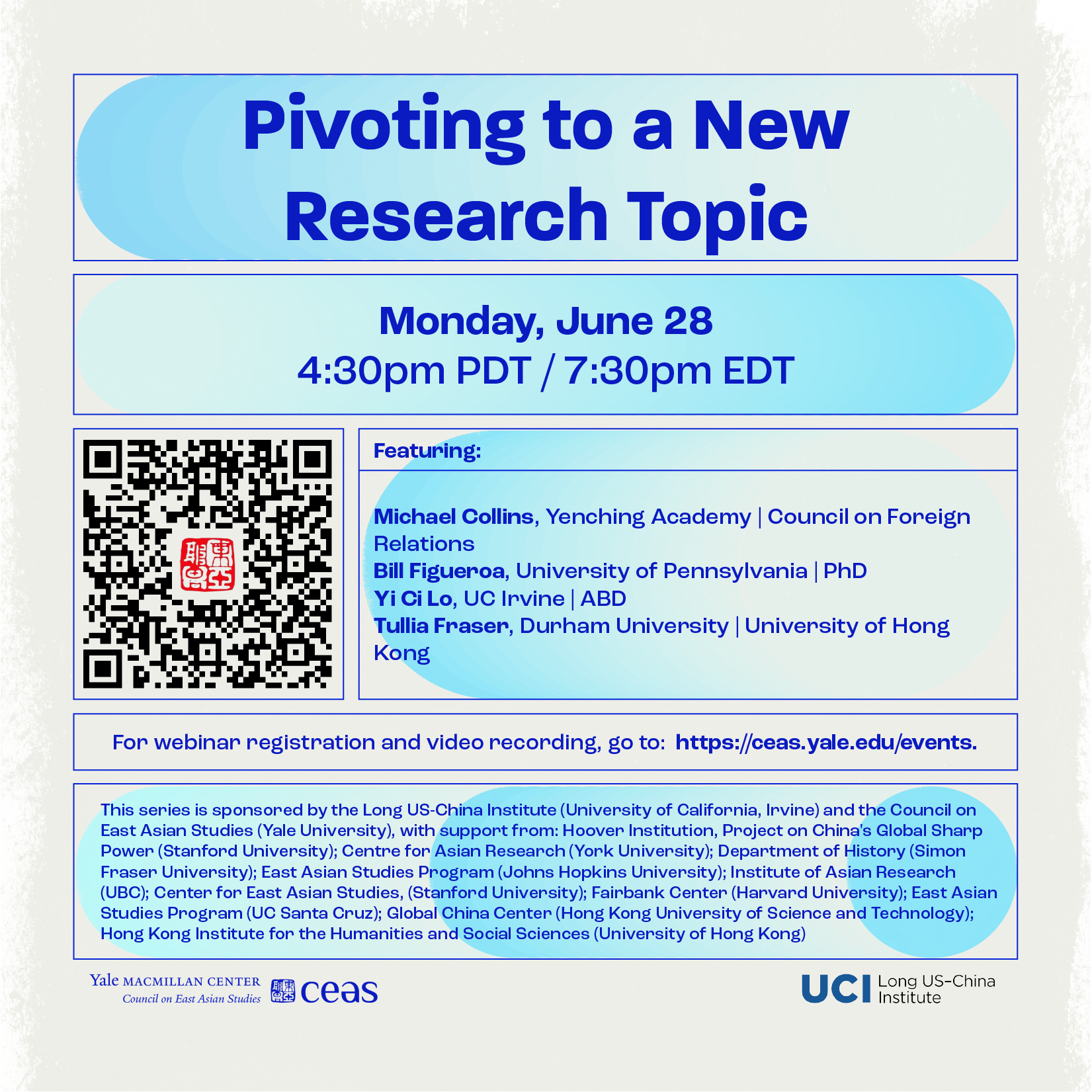 Pivoting to a New Research Topic